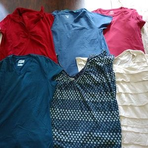 Tops - Lot of 15 Size Large Tees/T-Shirt/Top Short Sleeve